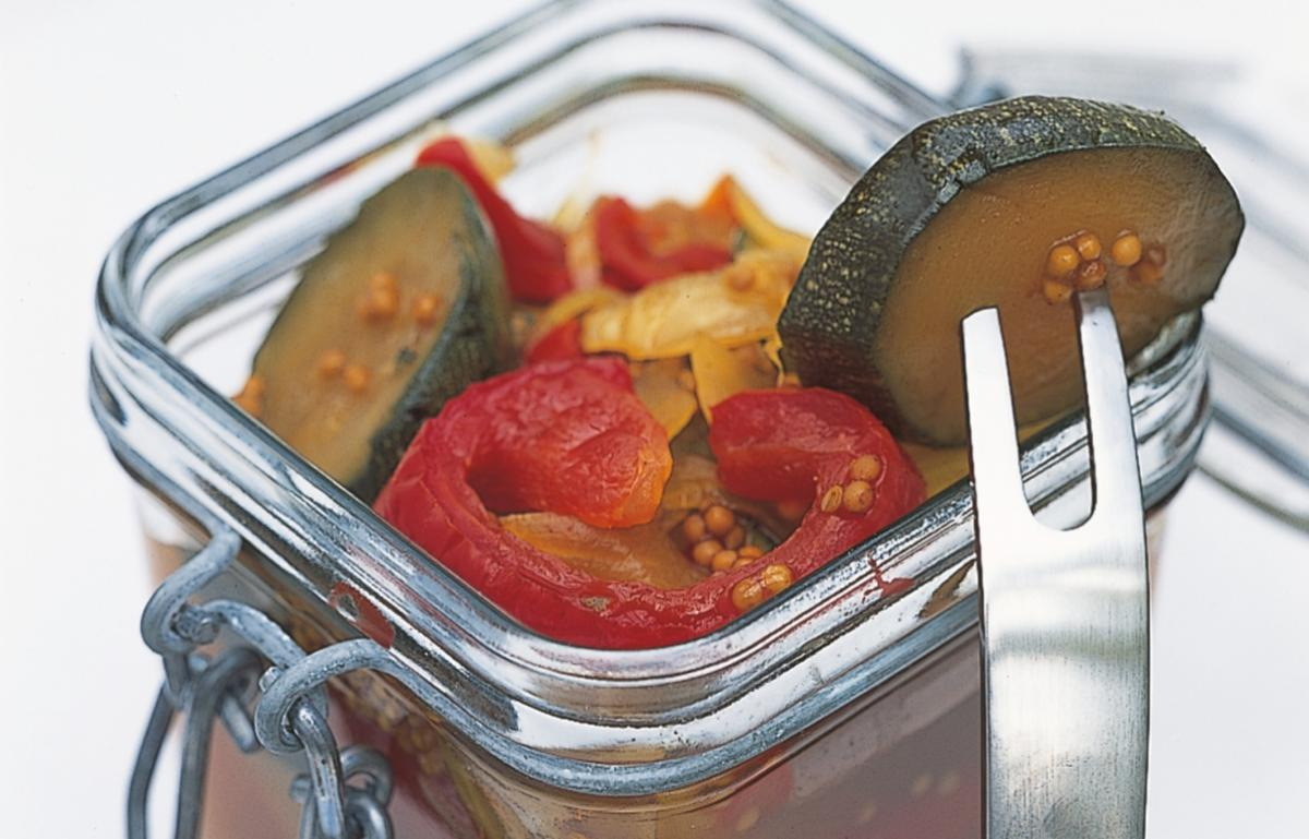 Htc pickled peppers and courgettes