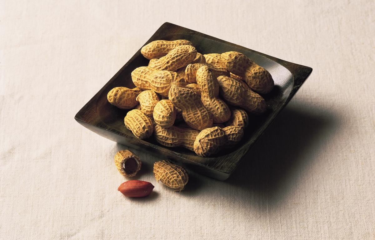 Ingredient chicken peanuts in shell