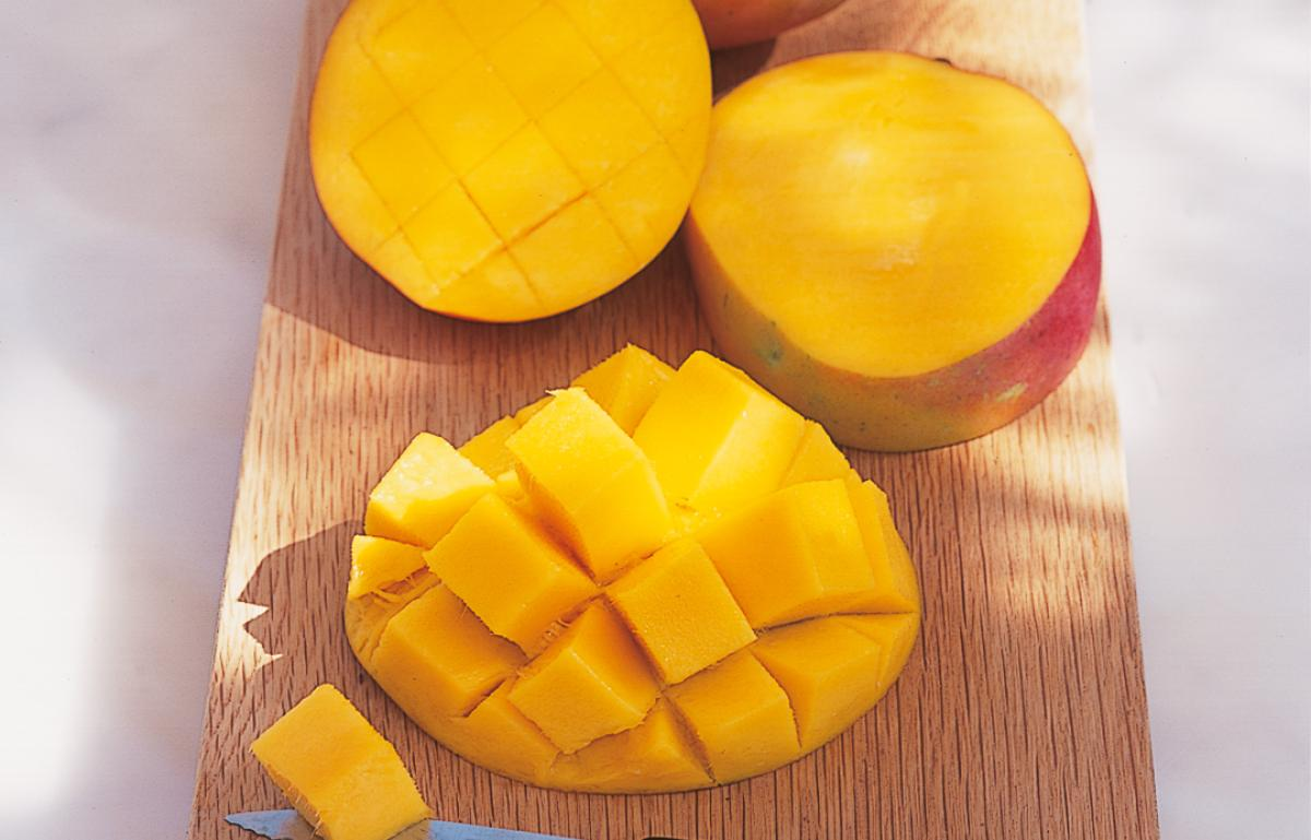 A picture of Delia's Michael's Mango Fool recipe