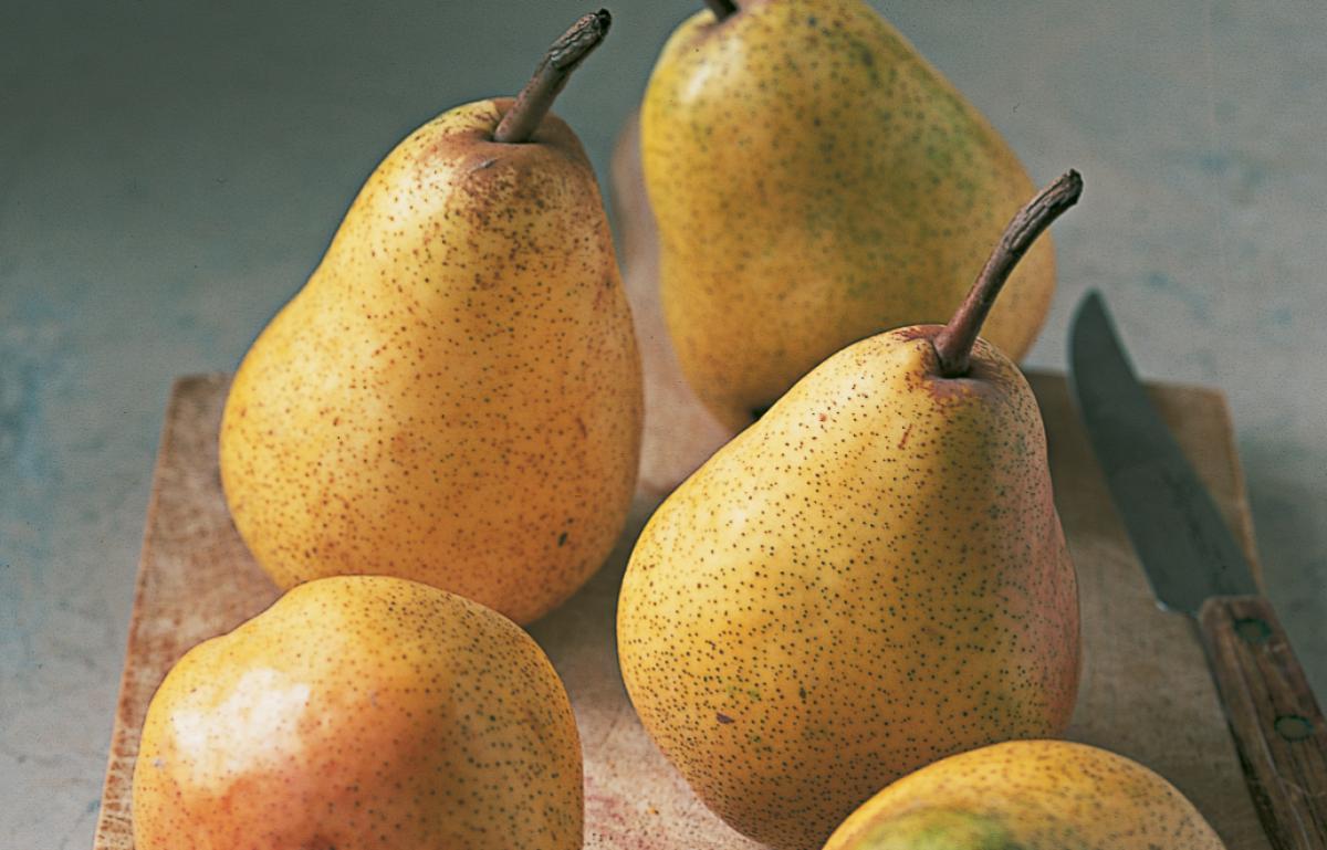 Ingredient puddings pears