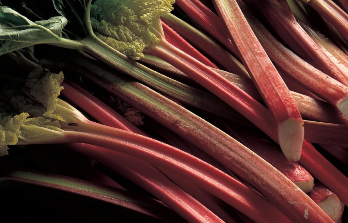 Ingredient vegetarian rhubarb