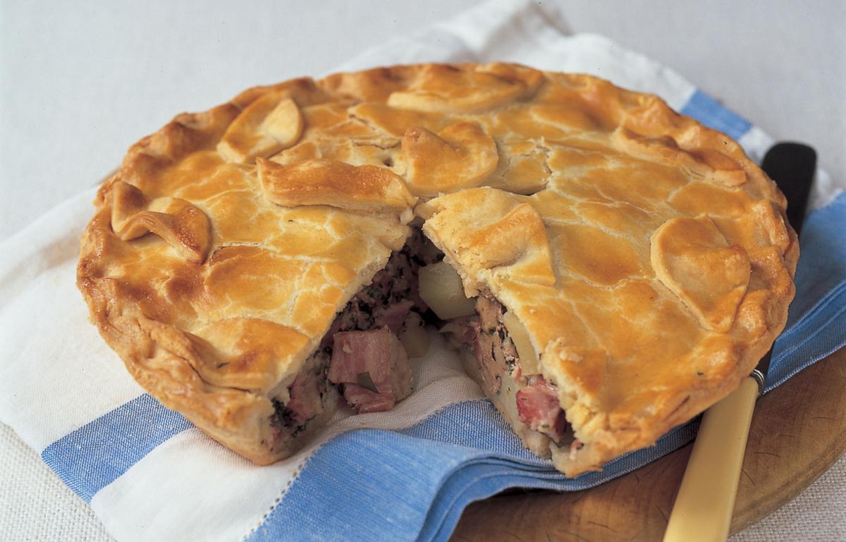 A picture of Delia's Picnic Pork Pie recipe