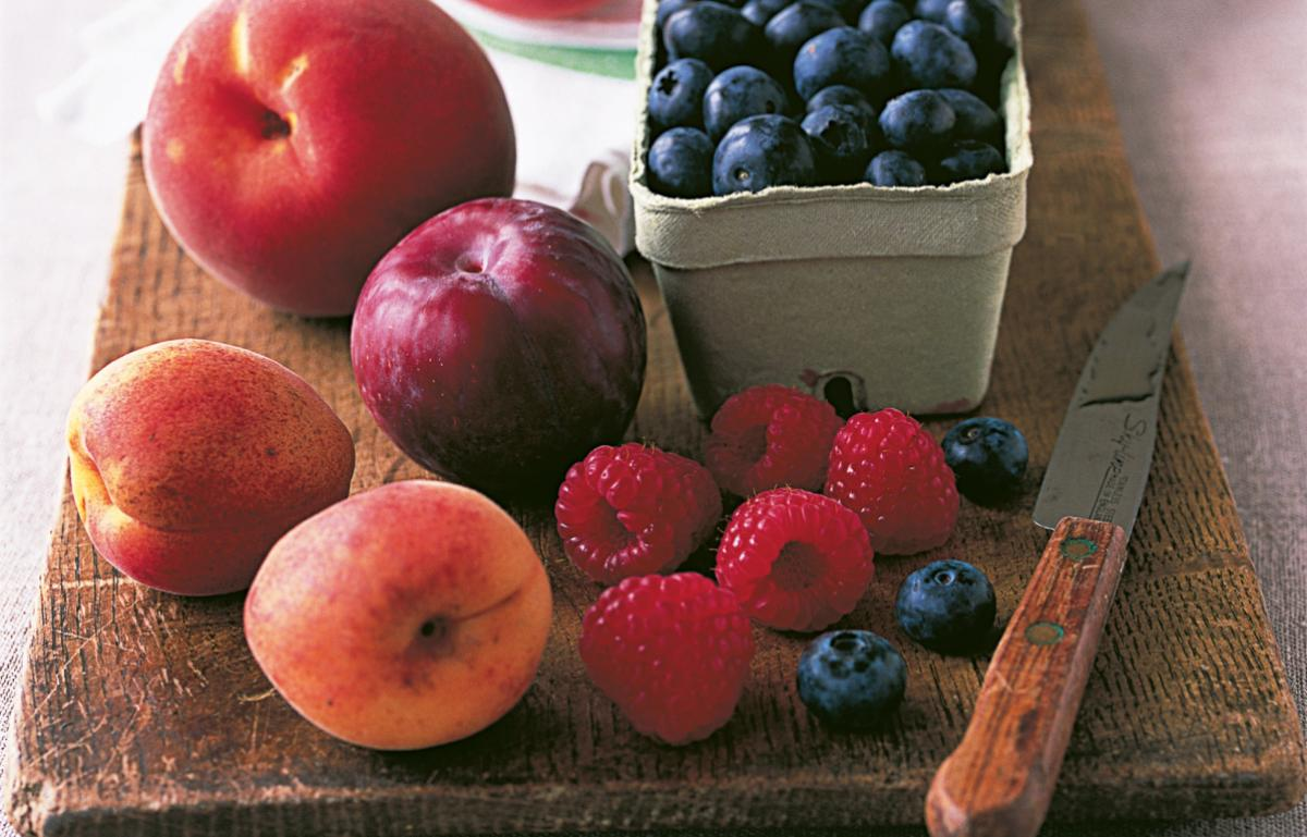 A picture of Delia's Summer Fruit Compote recipe