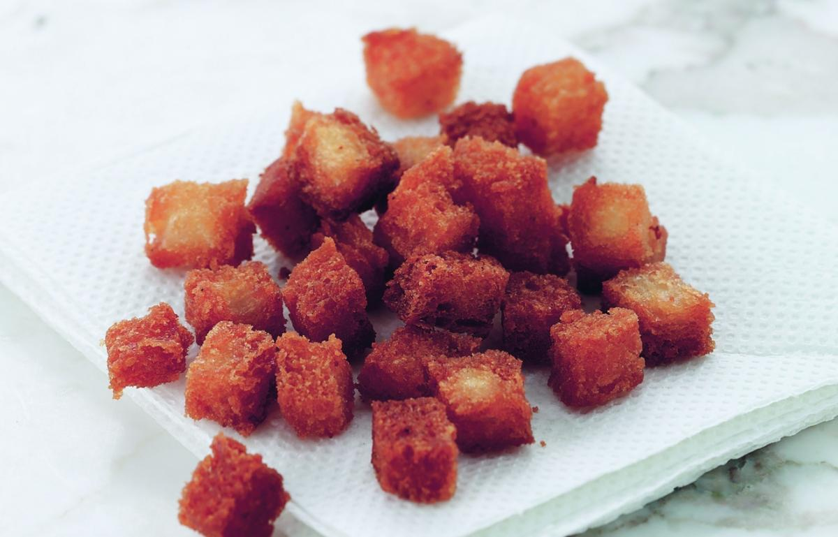 A picture of Delia's Croutons recipe