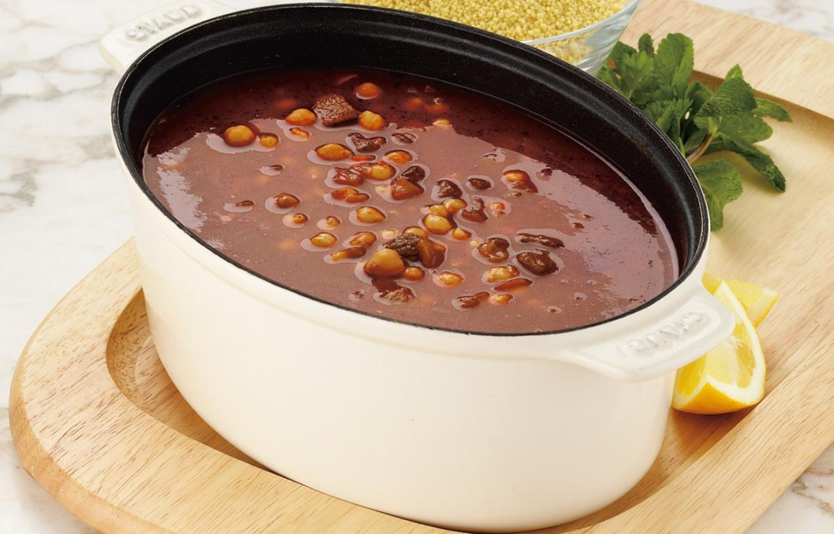 A picture of Delia's Libyan Soup with Couscous recipe