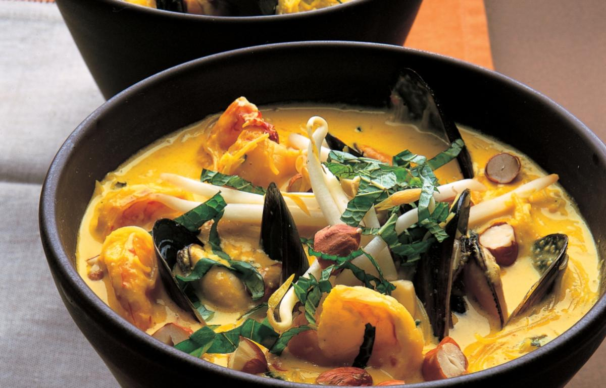 A picture of Delia's Seafood and Coconut Laksa recipe