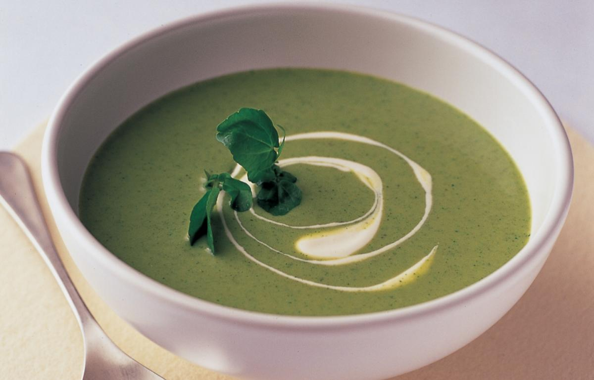 A picture of Delia's Watercress Soup recipe