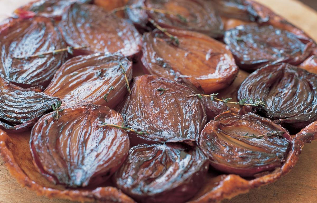 A picture of Delia's Red Onion Tarte Tatin recipe