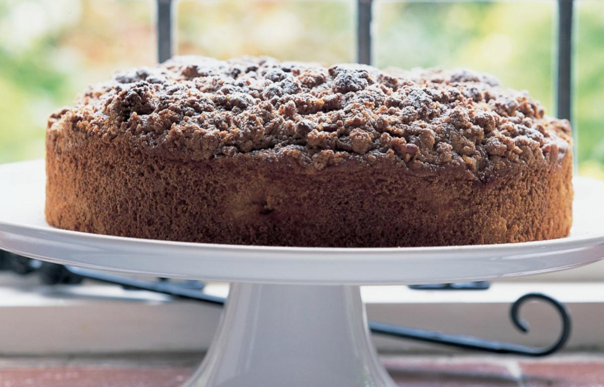 A picture of Delia's Spiced Apple Muffin Cake with Pecan Streusel Topping recipe