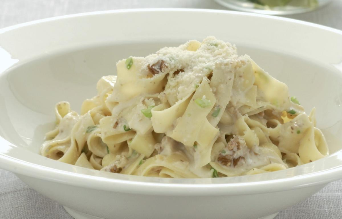 A picture of Delia's Tagliatelle with Gorgonzola and Toasted Walnuts recipe