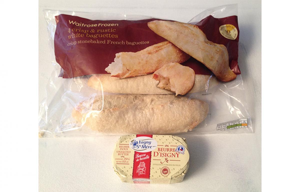 White baguettes 3x2