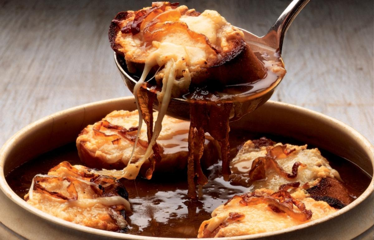 A picture of Delia's French Onion Soup recipe