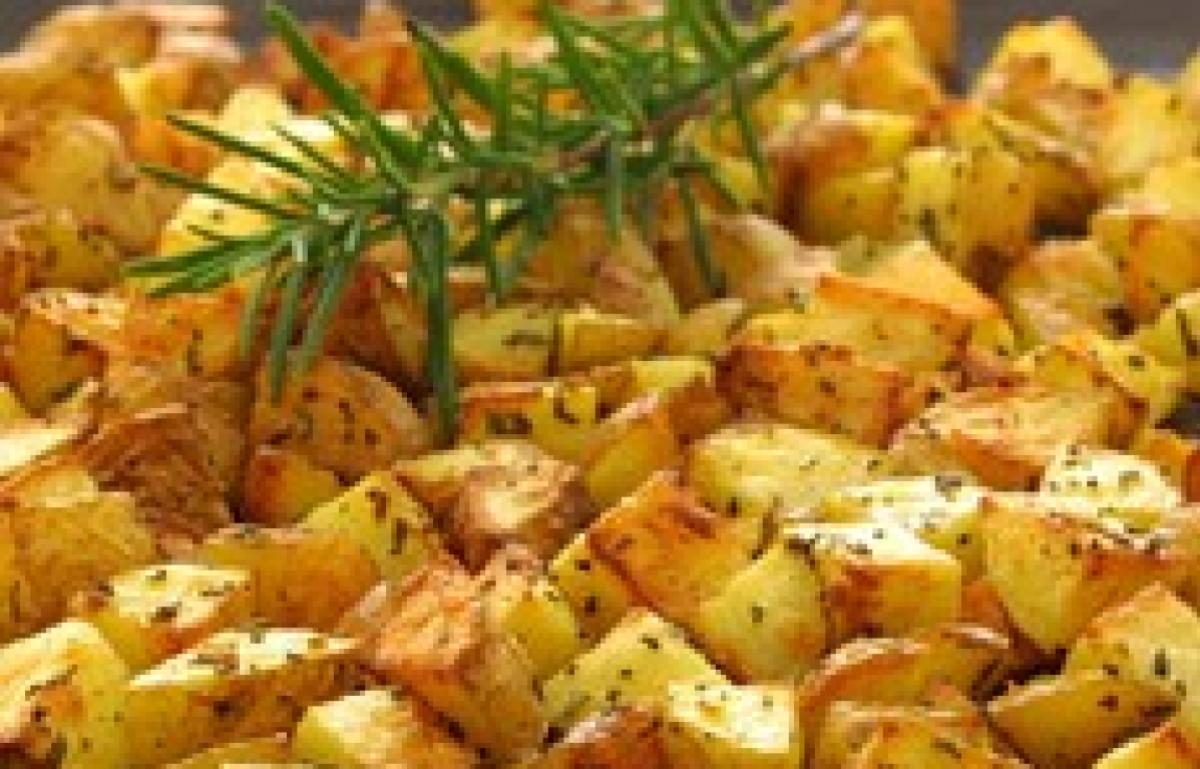 Oven Roasted Potatoes With Garlic And Rosemary Recipes Delia Online