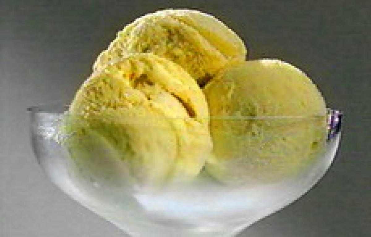 A picture of Delia's Gooseberry and Elderflower Ice Cream recipe