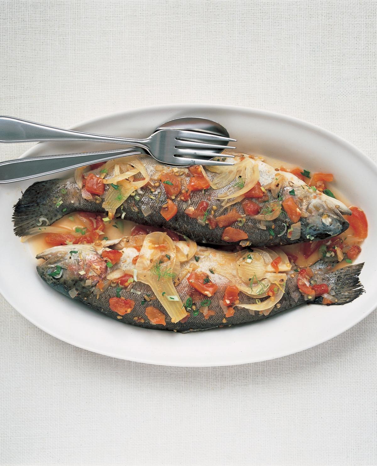 A picture of Delia's Fish recipes recipes
