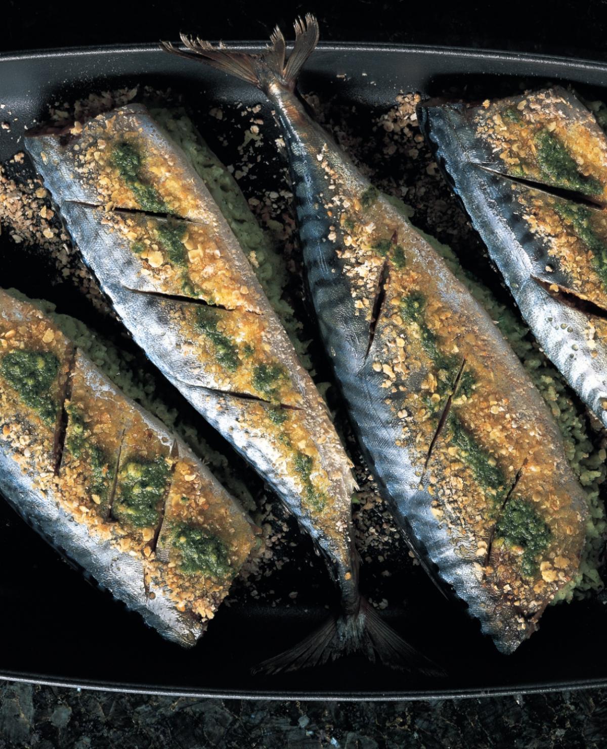A picture of Delia's Mackerel recipes