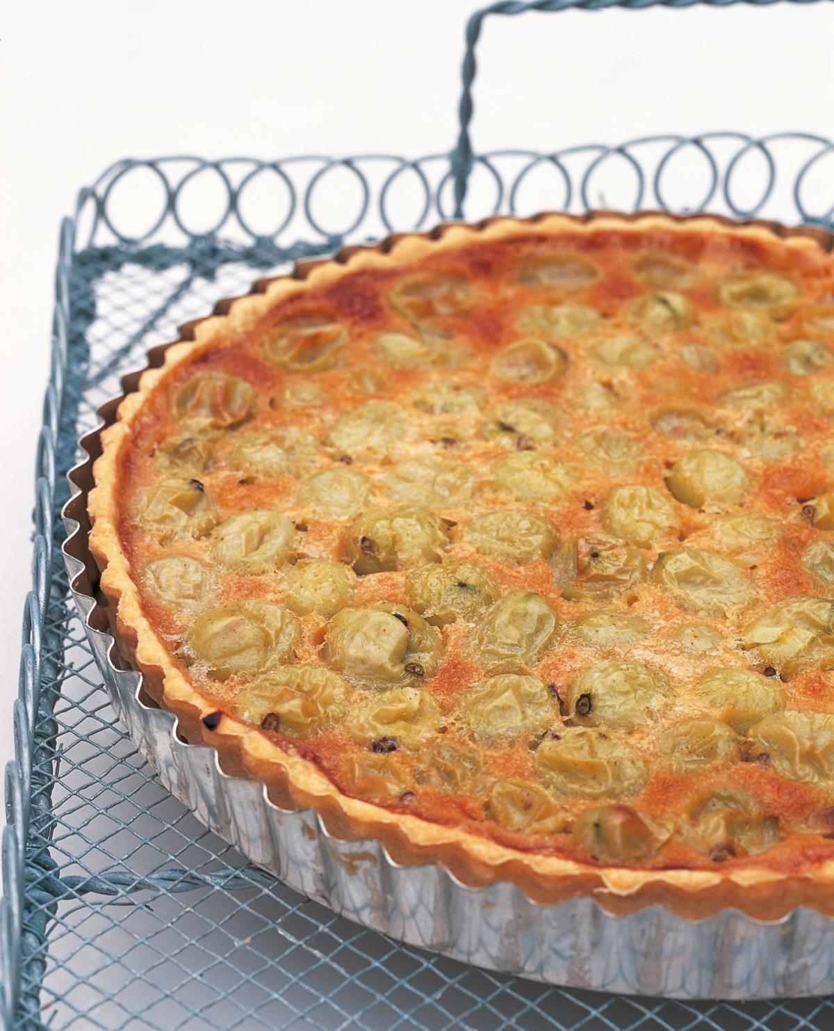 A picture of Delia's Tarts and Flans recipes