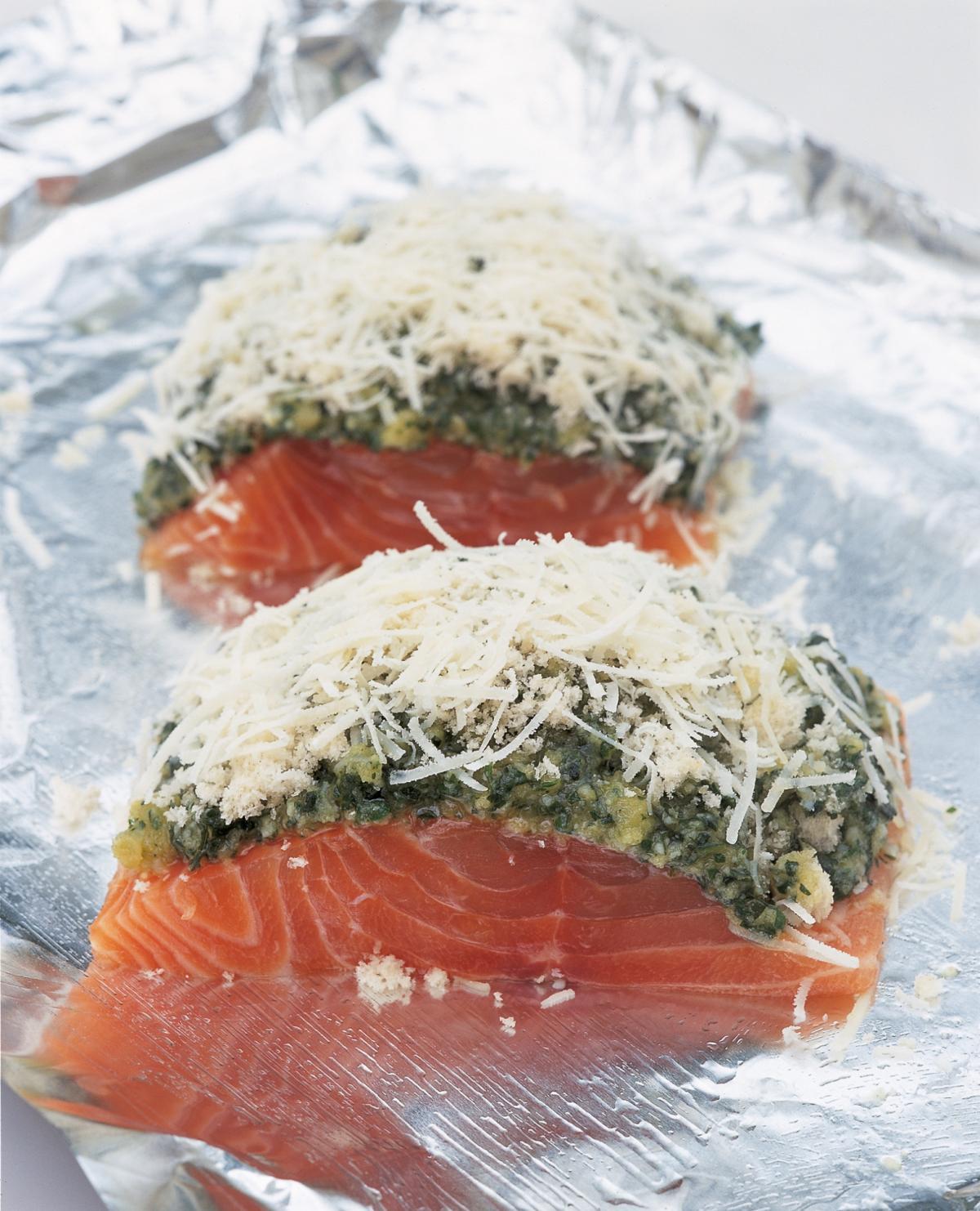 A picture of Delia's Salmon recipes