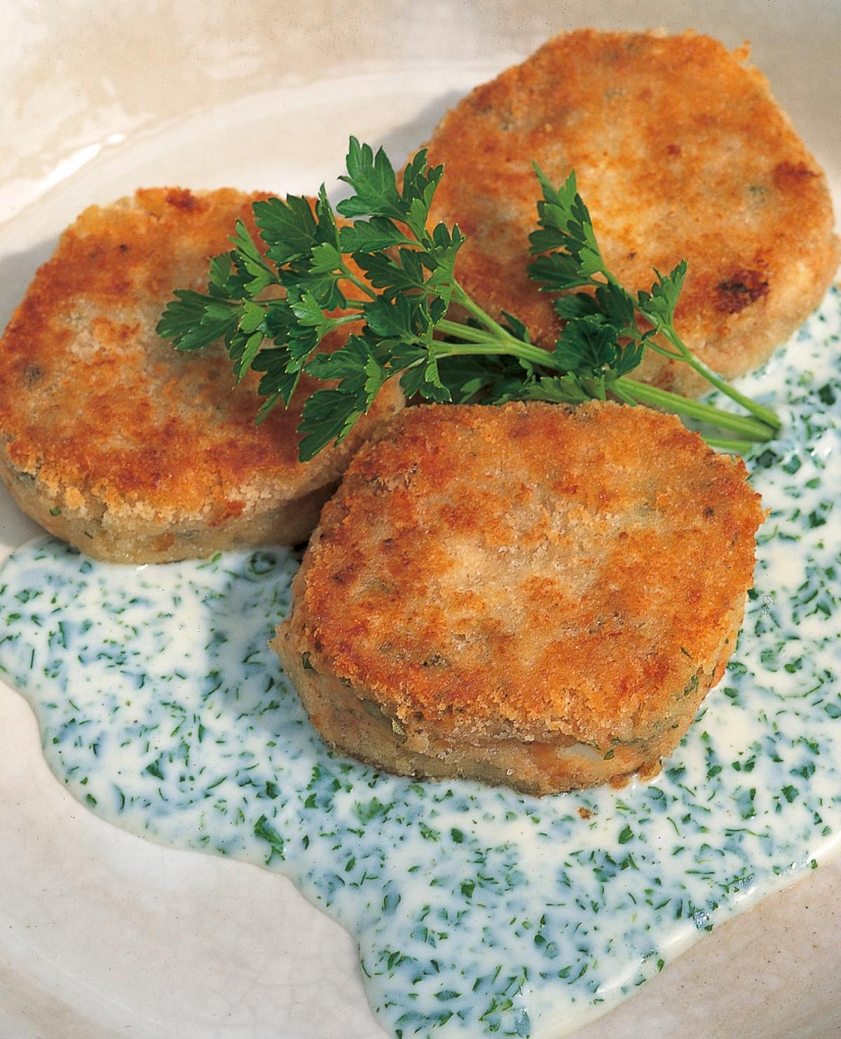 A picture of Delia's Fish cakes recipes