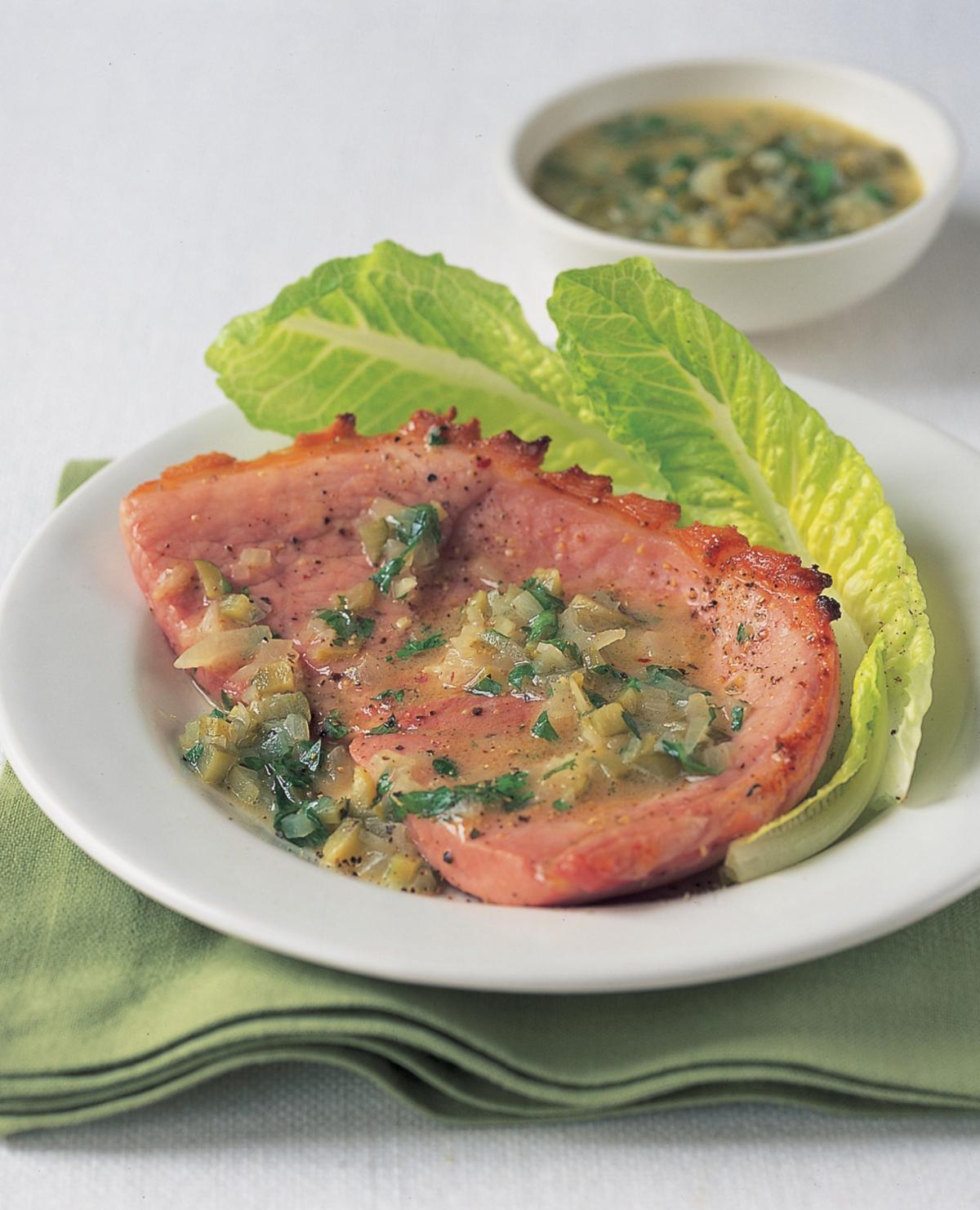 A picture of Delia's Gammon recipes
