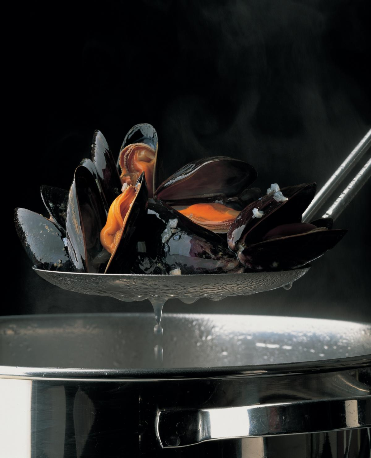 A picture of Delia's Mussels recipes