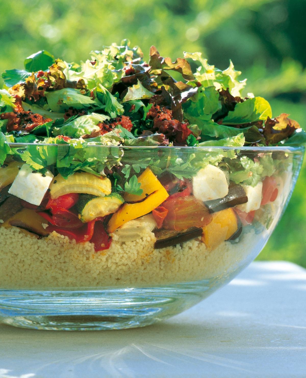 Mediterranean Style Couscous: Mediterranean Recipes