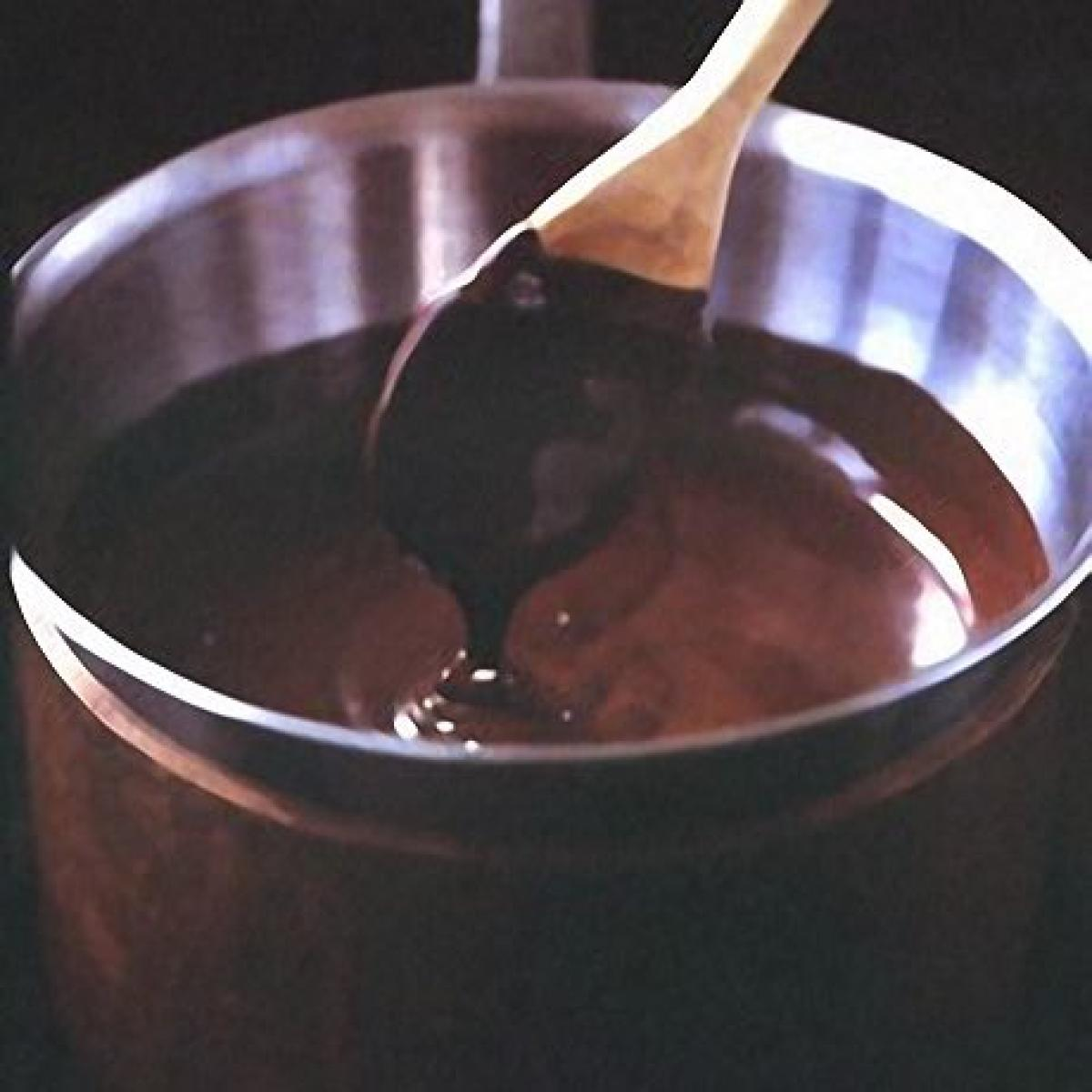 A picture of Delia's Steamed Chocolate Pudding with Chocolate Sauce recipe