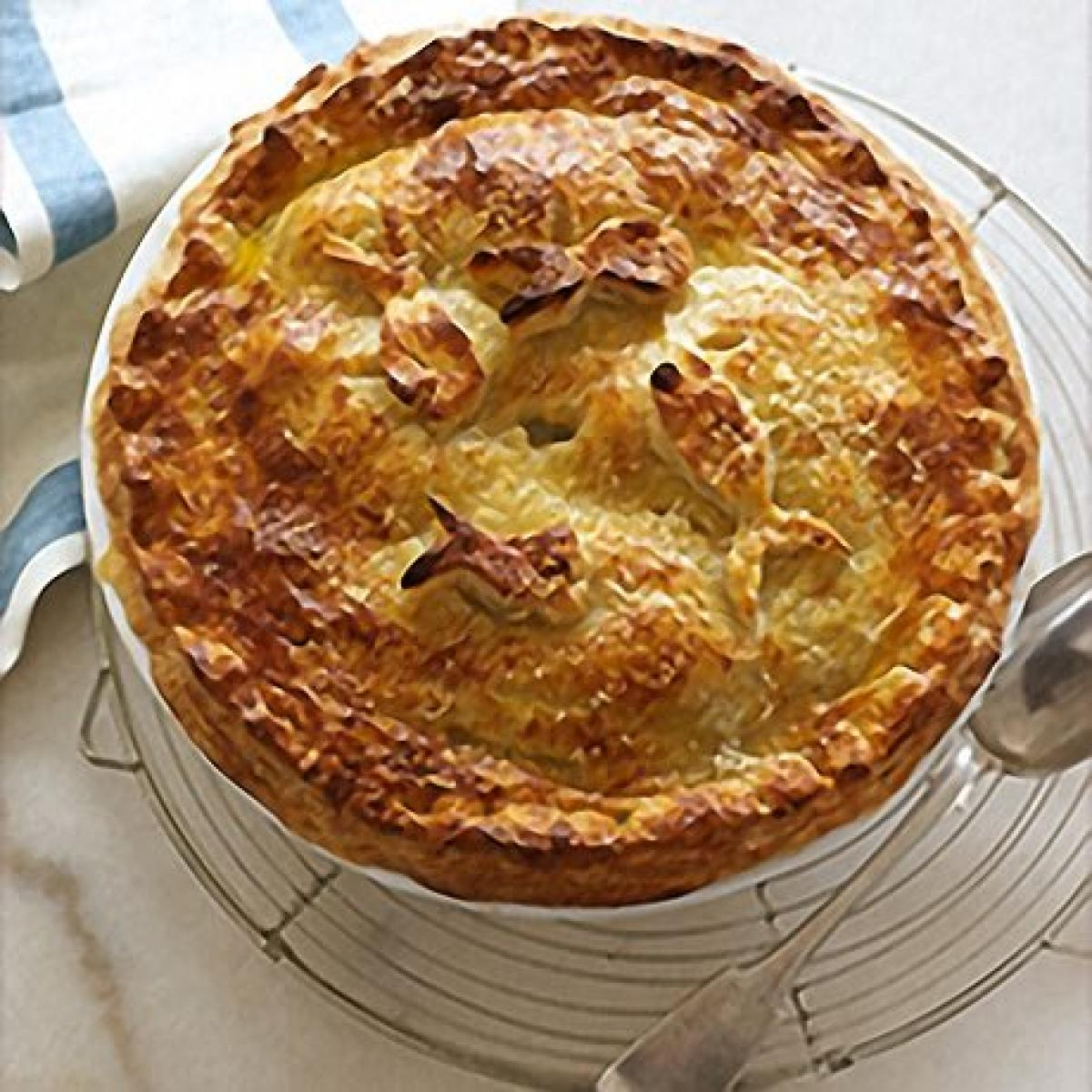 A picture of Delia's Luxury Seafood Pie with a Parmesan Crust recipe
