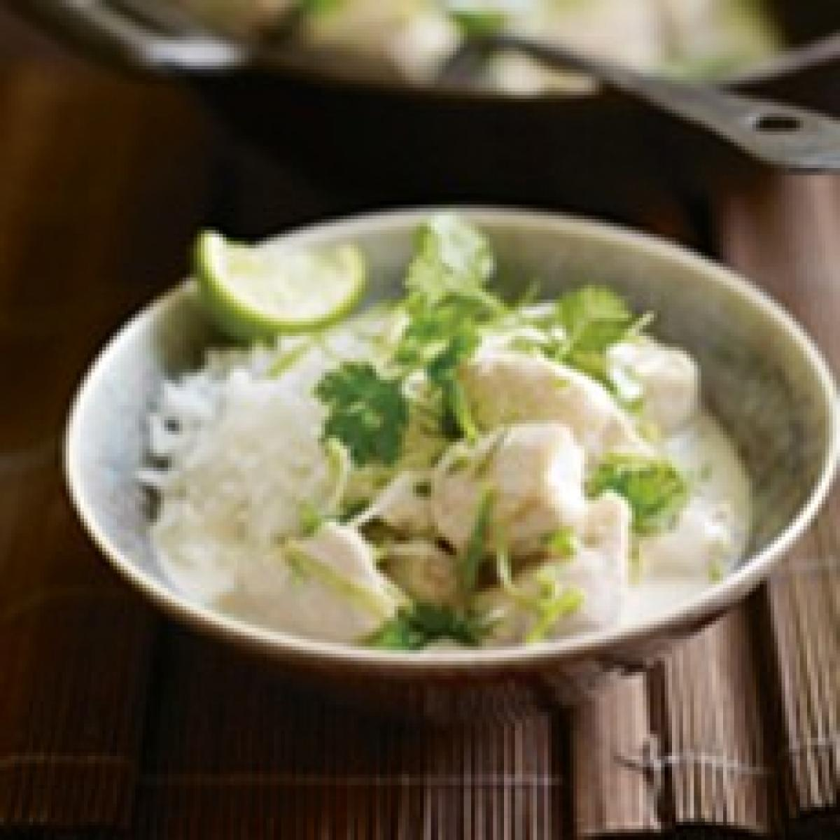 A picture of Delia's Thai Chicken with Lime and Coconut recipe