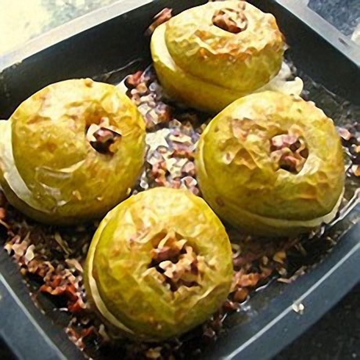 A picture of Delia's Baked Apples with Pecans and Maple Syrup recipe