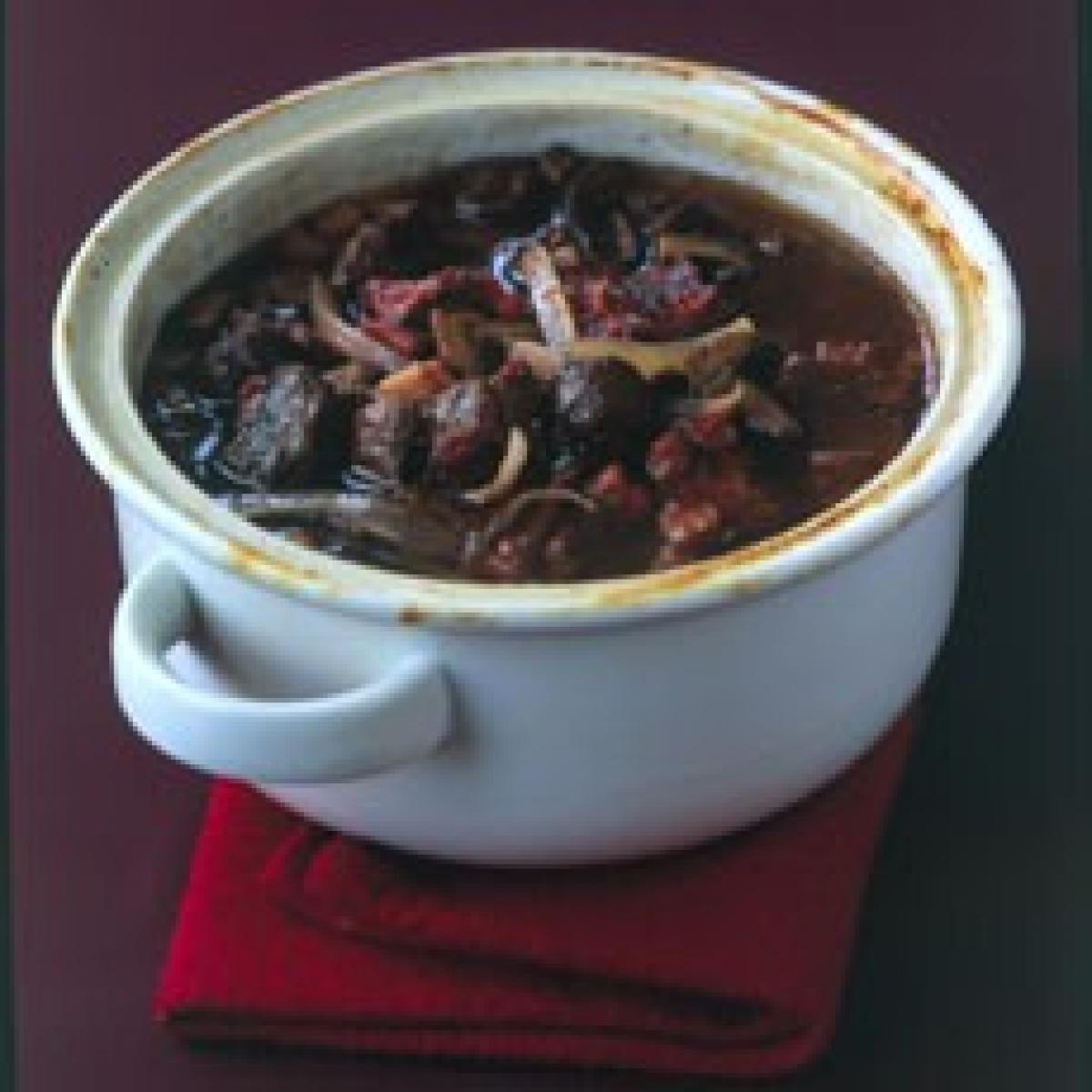 A picture of Delia's Boeuf Bourguignon Easy recipe