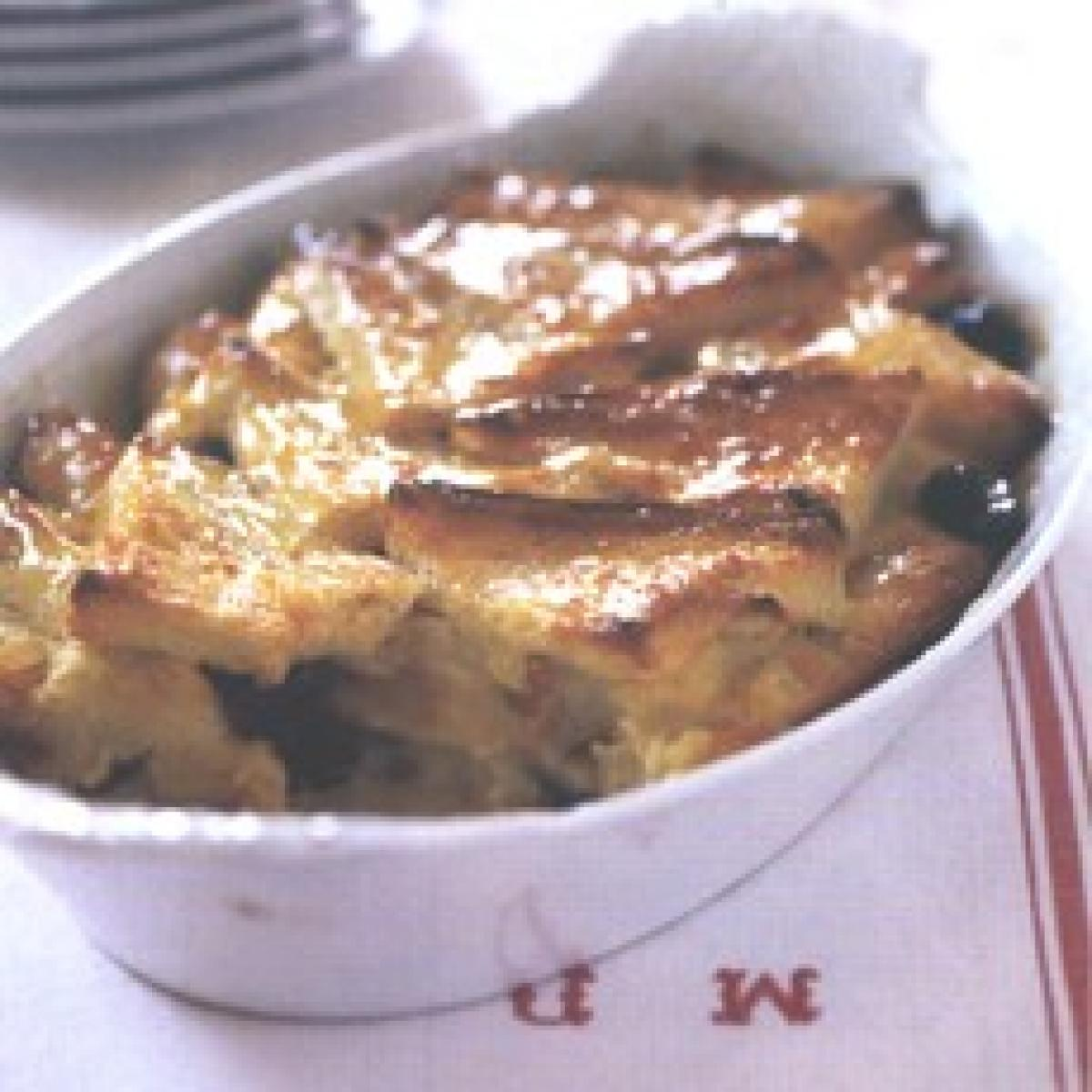 A picture of Delia's Bread and Butter Pudding with Whisky-soaked Raisins recipe