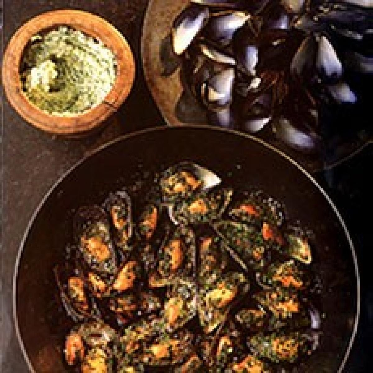 A picture of Delia's Mussels with Garlic Stuffing recipe