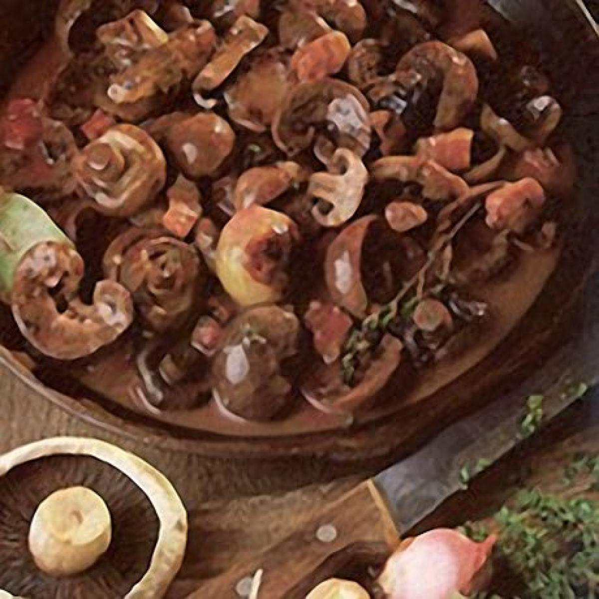 A picture of Delia's Lambs' Kidneys in Red Wine recipe