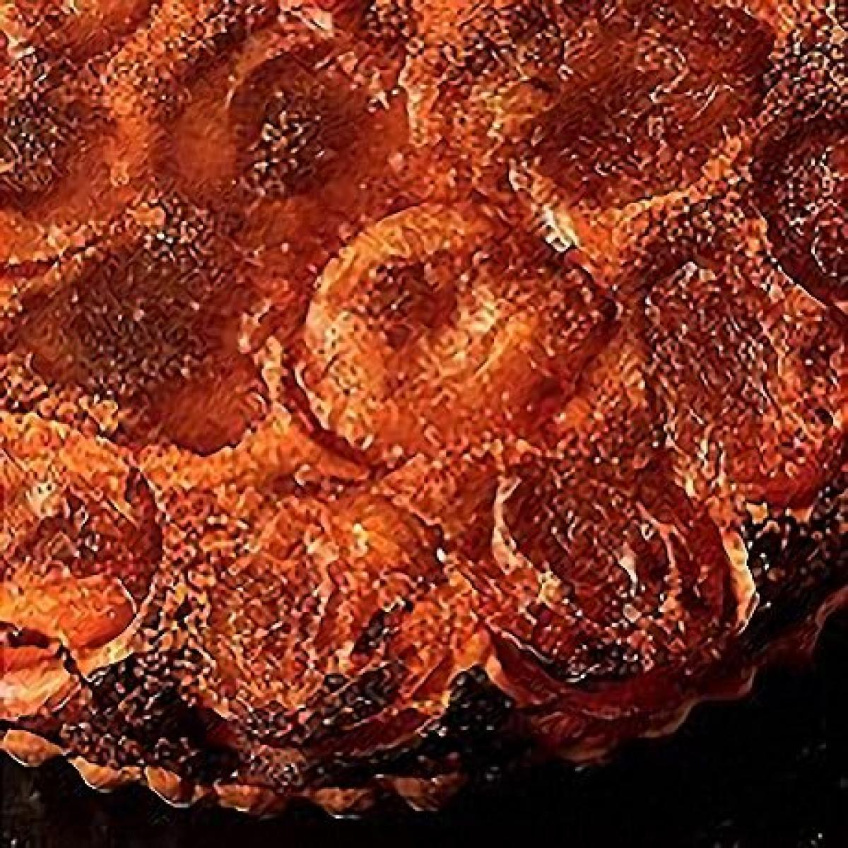 Cc422 plum sour cream flan 19686