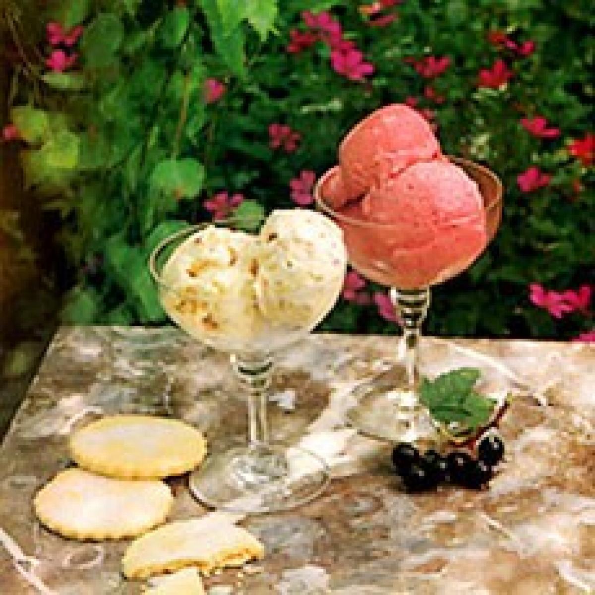 A picture of Delia's Blackcurrant Ice Cream recipe