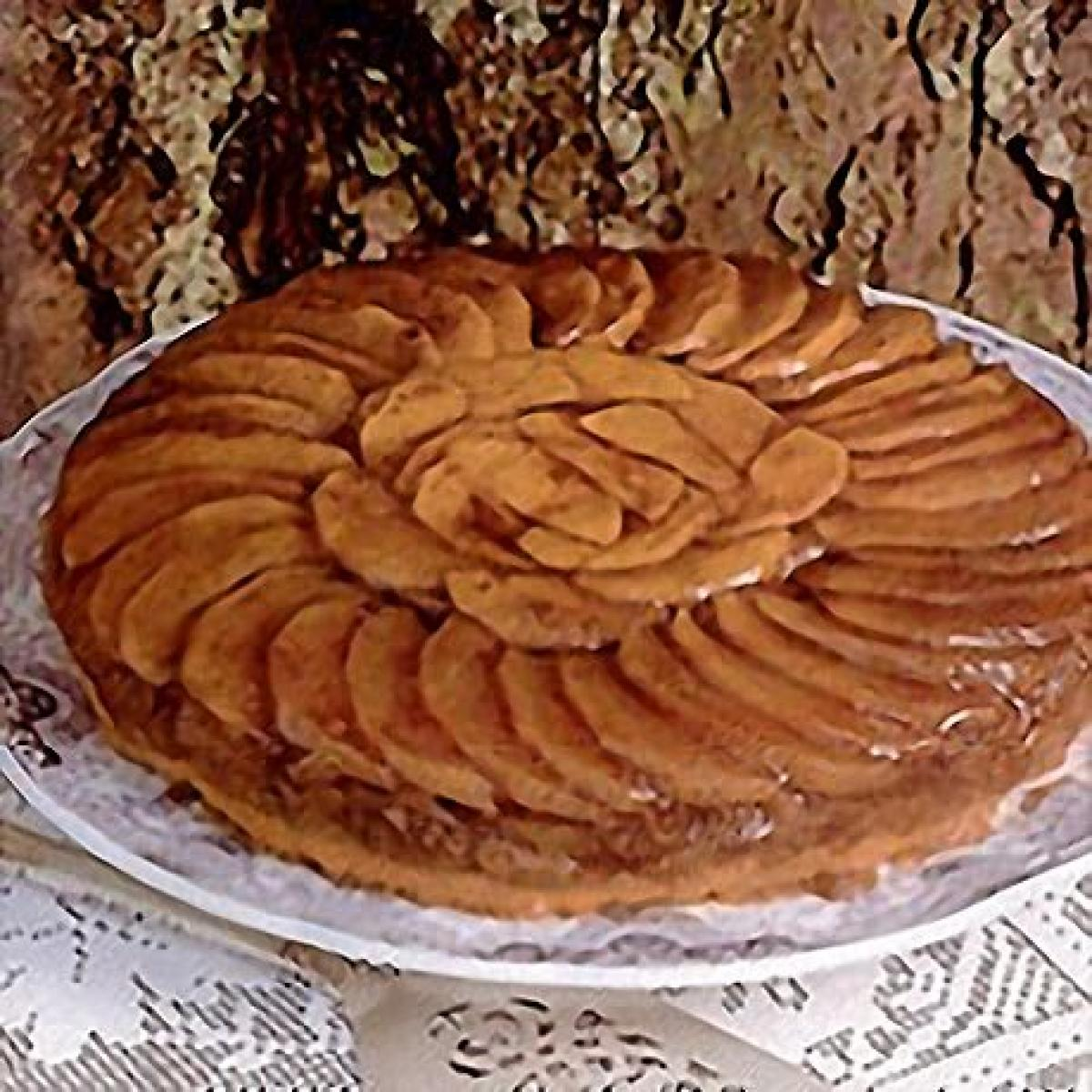 A picture of Delia's Caramelised Apple Flan recipe
