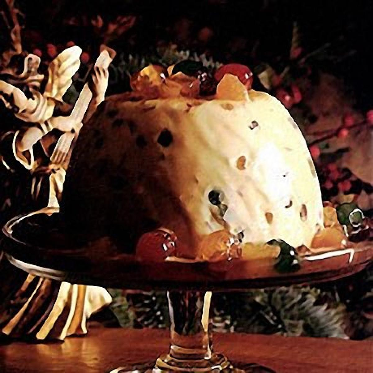 A picture of Delia's Iced Christmas Pudding with Glace Fruits recipe