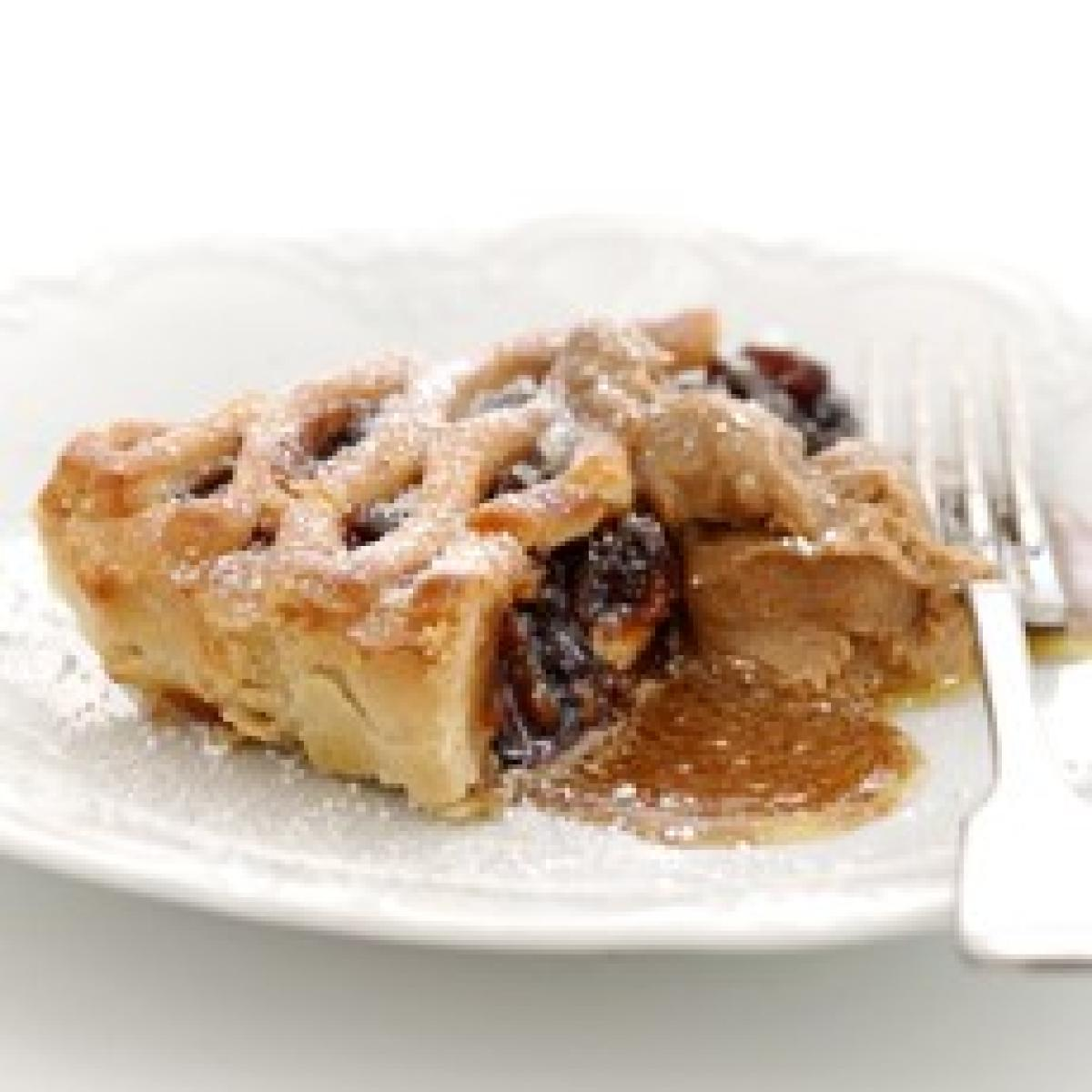 A picture of Delia's Lattice Mincemeat Dessert Tart recipe