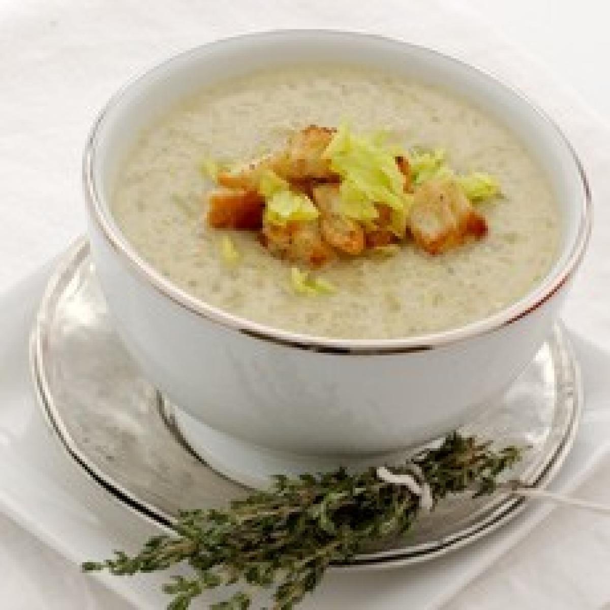 cauliflower soup with roquefort recipes delia online