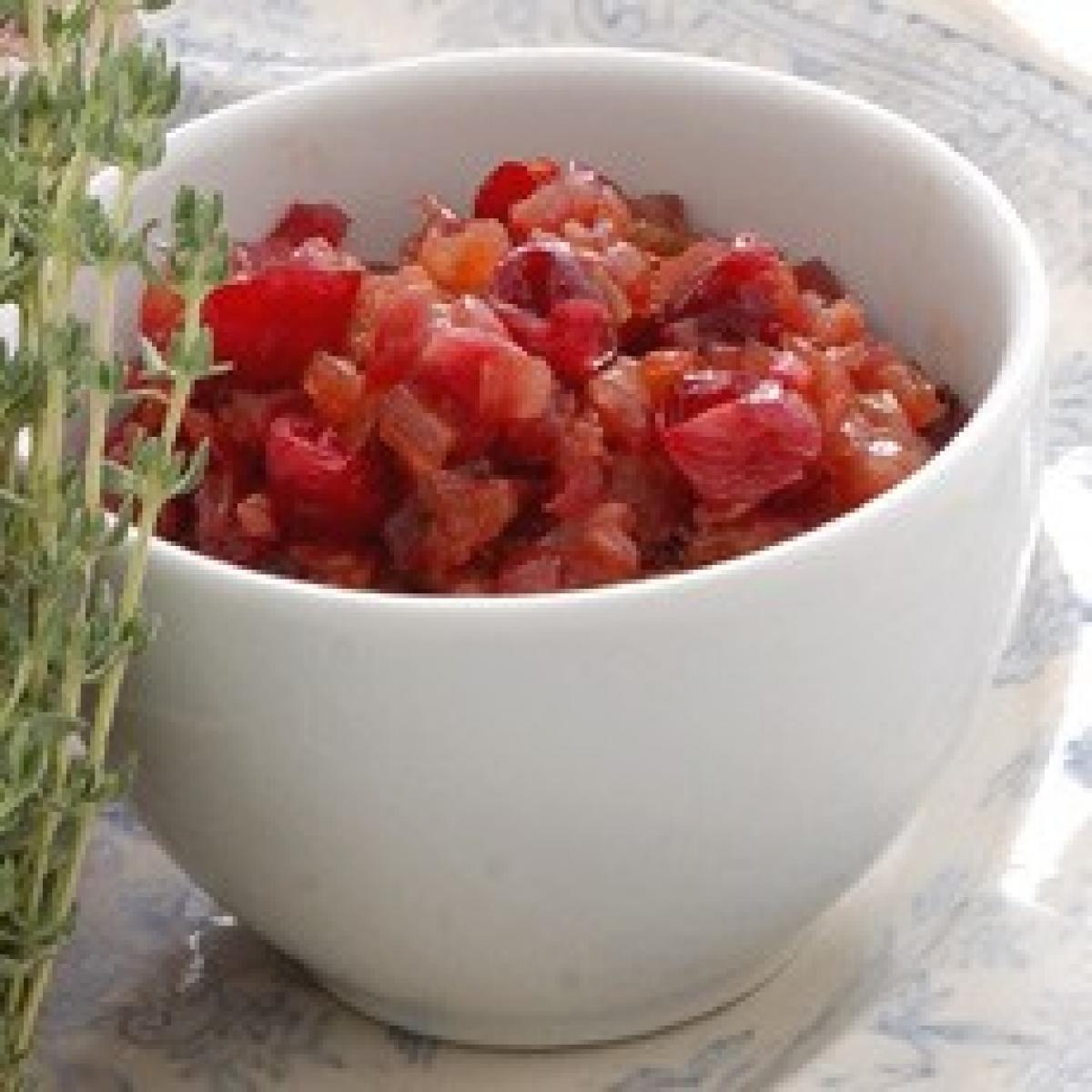 A picture of Delia's Cranberry and Onion Confit recipe