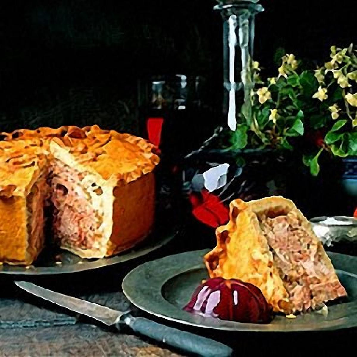 A picture of Delia's Old-fashioned Raised Game Pie recipe