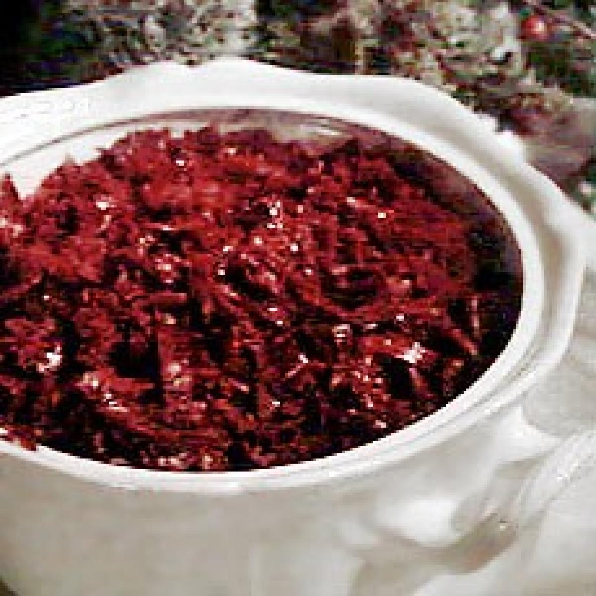 A picture of Delia's Spiced Sauteed Red Cabbage with Cranberries recipe