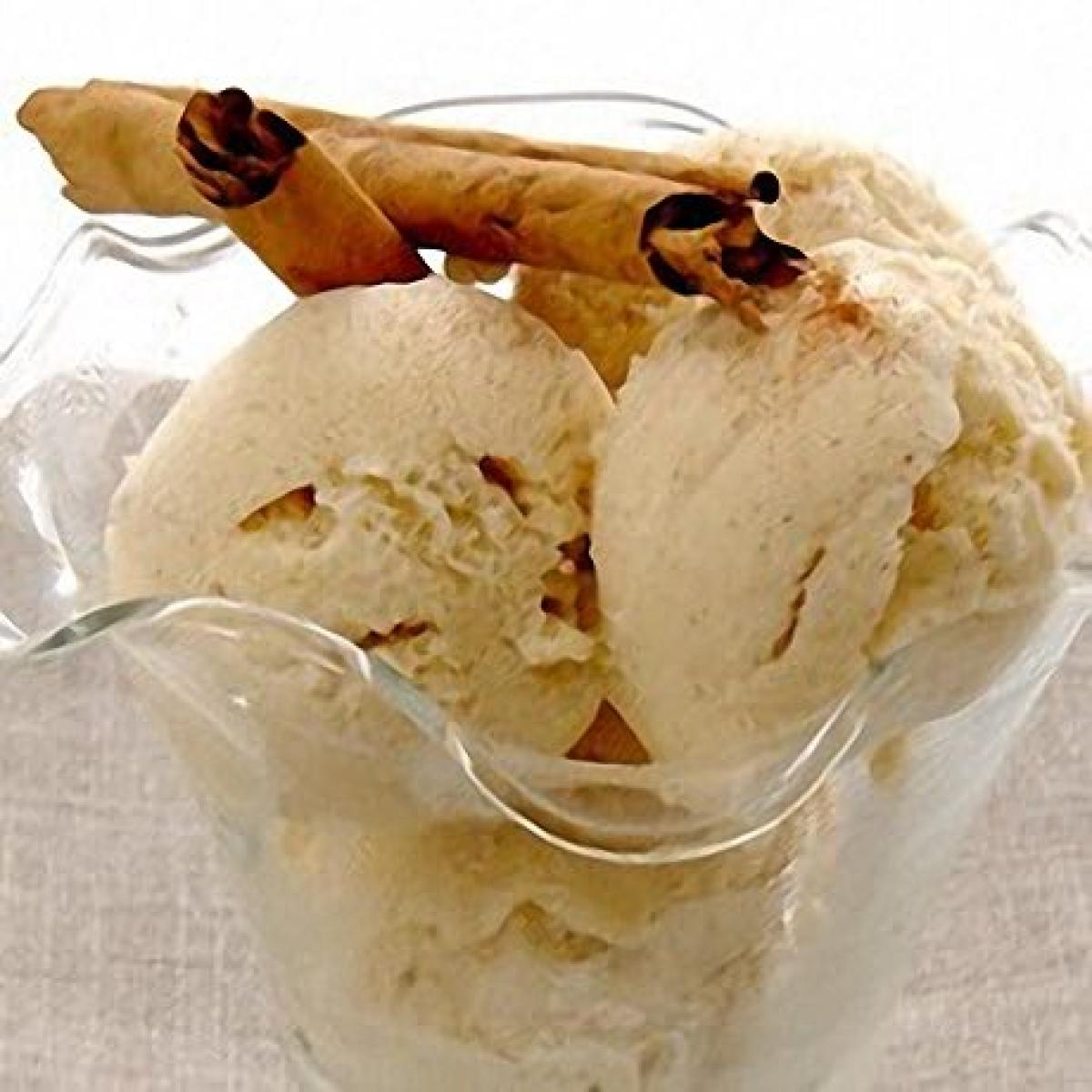 A picture of Delia's Cinnamon Ice Cream recipe