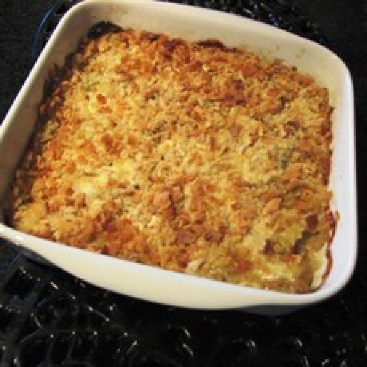 A picture of Delia's Celery and Stilton au Gratin recipe