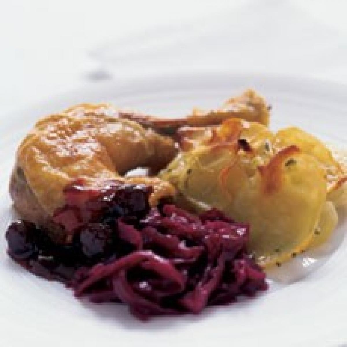 A picture of Delia's Port and Sour Cherry Sauce recipe