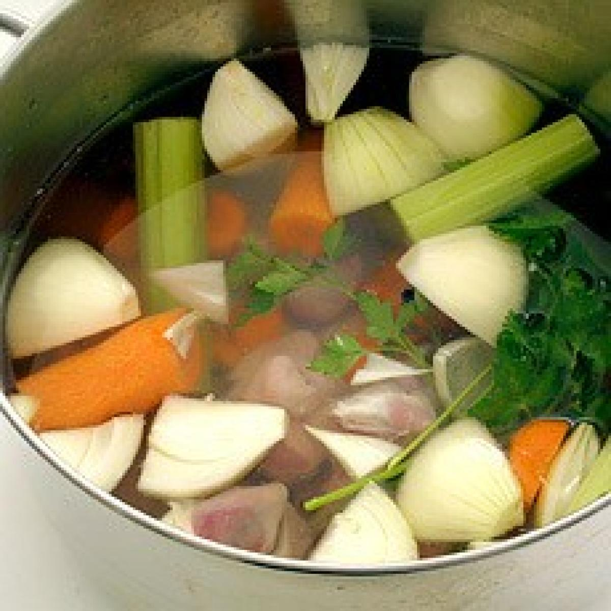 A picture of Delia's Chicken Giblet Stock recipe