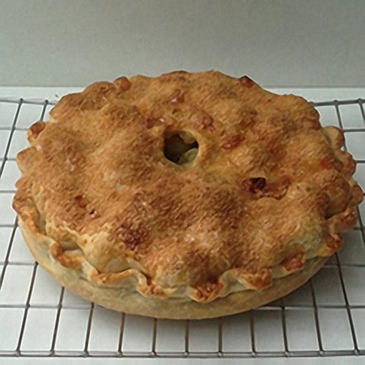 A picture of Delia's English Gooseberry Pie recipe