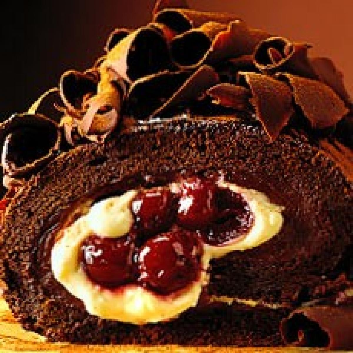 A picture of Delia's A Return to the Black Forest  recipe