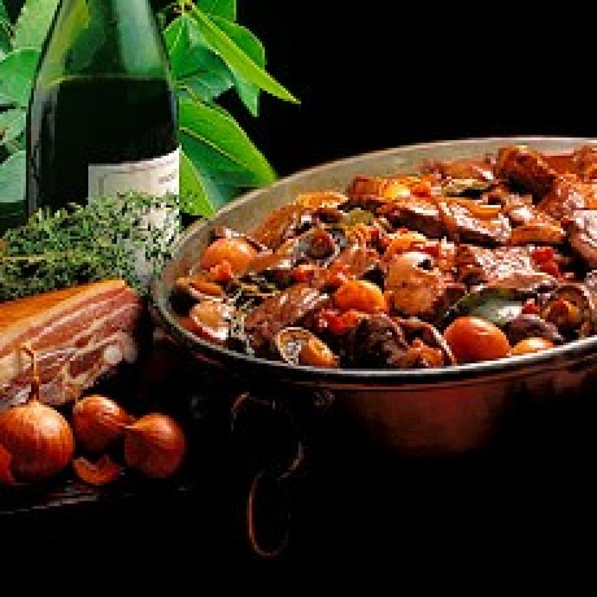 A picture of Delia's Boeuf Bourguignon recipe